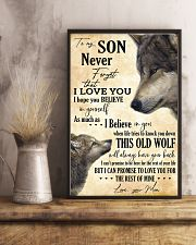 To My Son Never Forget That I Love You 11x17 Poster lifestyle-poster-3