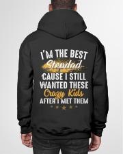 I'm The Best Stepdad I Wanted These Crazy Kids Hooded Sweatshirt garment-hooded-sweatshirt-back-01