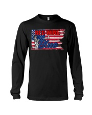 Red Wine And Blue Long Sleeve Tee thumbnail