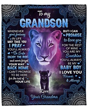"Whenever Your Journey In Life Lion GM To GS Fleece Blanket - 50"" x 60"" front"