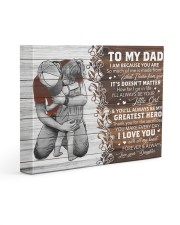 I Am Cuz You Are Daughter To Dad 14x11 Gallery Wrapped Canvas Prints front