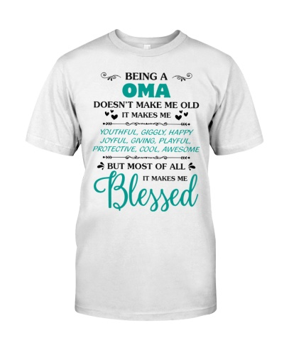 Being A Oma Makes Me Blessed
