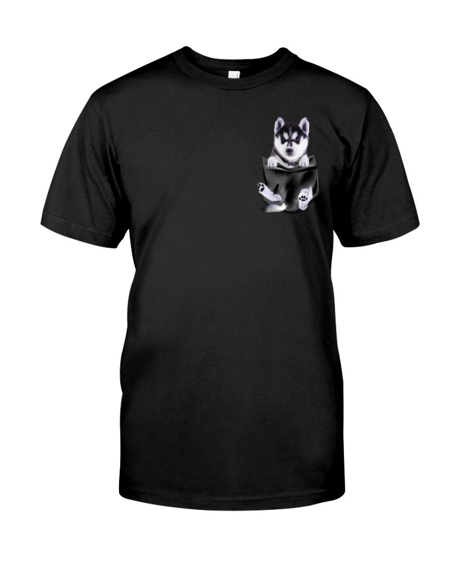 Husky Pocket Classic T-Shirt