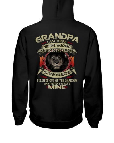 Grandpa Lion Step Out Of The Shadow Protect Mine