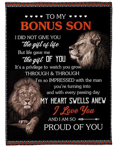 To My Bonus Son I Am So Proud Of You