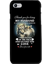 Thank You For Being My Husband Phone Case thumbnail