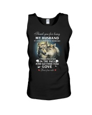 Thank You For Being My Husband Unisex Tank thumbnail
