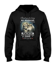 Thank You For Being My Husband Hooded Sweatshirt thumbnail