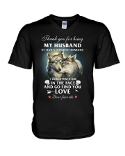 Thank You For Being My Husband V-Neck T-Shirt thumbnail