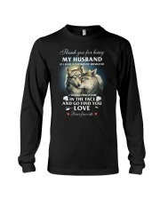 Thank You For Being My Husband Long Sleeve Tee thumbnail