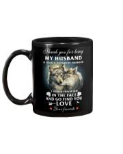Thank You For Being My Husband Mug back