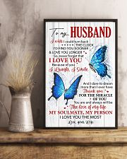 Husband Butterfly Thanks For The Miracle Of You  11x17 Poster lifestyle-poster-3