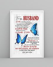Husband Butterfly Thanks For The Miracle Of You  11x17 Poster lifestyle-poster-5