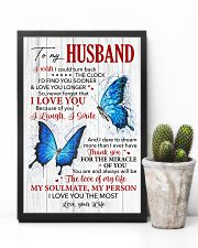 Husband Butterfly Thanks For The Miracle Of You  11x17 Poster lifestyle-poster-8