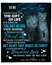 """To My Son-In-Law Lucky To Have You In My Life Fleece Blanket - 50"""" x 60"""" front"""