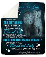 """To My Son-In-Law Lucky To Have You In My Life Sherpa Fleece Blanket - 50"""" x 60"""" thumbnail"""