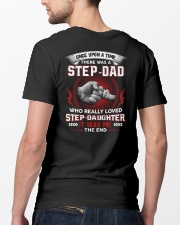 Stepdad Who Really Loved Stepdaughter Classic T-Shirt lifestyle-mens-crewneck-back-5