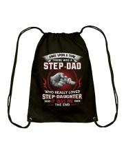 Stepdad Who Really Loved Stepdaughter Drawstring Bag thumbnail