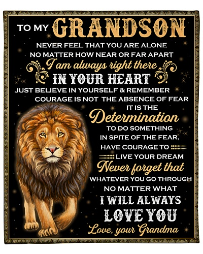 To Grandson I Am Always Right There In Your Heart