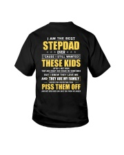 I Am The Best Stepdad Ever Youth T-Shirt thumbnail