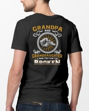Grandpa And Granddaughter Classic T-Shirt lifestyle-mens-crewneck-back-5
