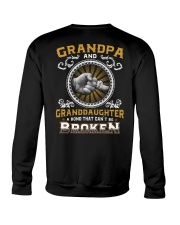 Grandpa And Granddaughter Crewneck Sweatshirt thumbnail