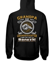 Grandpa And Granddaughter Hooded Sweatshirt thumbnail