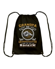Grandpa And Granddaughter Drawstring Bag thumbnail