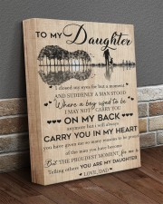 I Closed My Eyes For But A Moment Dad To Daughter 11x14 Gallery Wrapped Canvas Prints aos-canvas-pgw-11x14-lifestyle-front-10