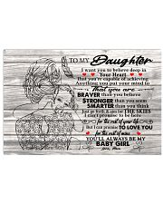 I Want U To Believe In Your Heart-Mom To Daughter 17x11 Poster thumbnail