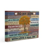 Son Be Brave Be Bold And Just Do Your Best 14x11 Gallery Wrapped Canvas Prints front