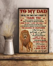 Dad Lion Tks4 All The Special Little Things You Do 11x17 Poster lifestyle-poster-3