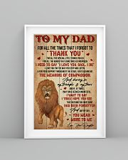 Dad Lion Tks4 All The Special Little Things You Do 11x17 Poster lifestyle-poster-5