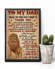 Dad Lion Tks4 All The Special Little Things You Do 11x17 Poster lifestyle-poster-8