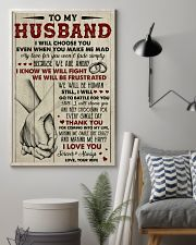 To my husband I Love you forever and always 11x17 Poster lifestyle-poster-1