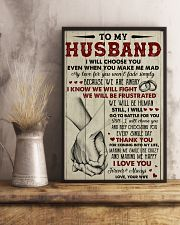 To my husband I Love you forever and always 11x17 Poster lifestyle-poster-3