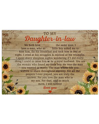 Daughter-In-Law So Much More I'll Forever Love You