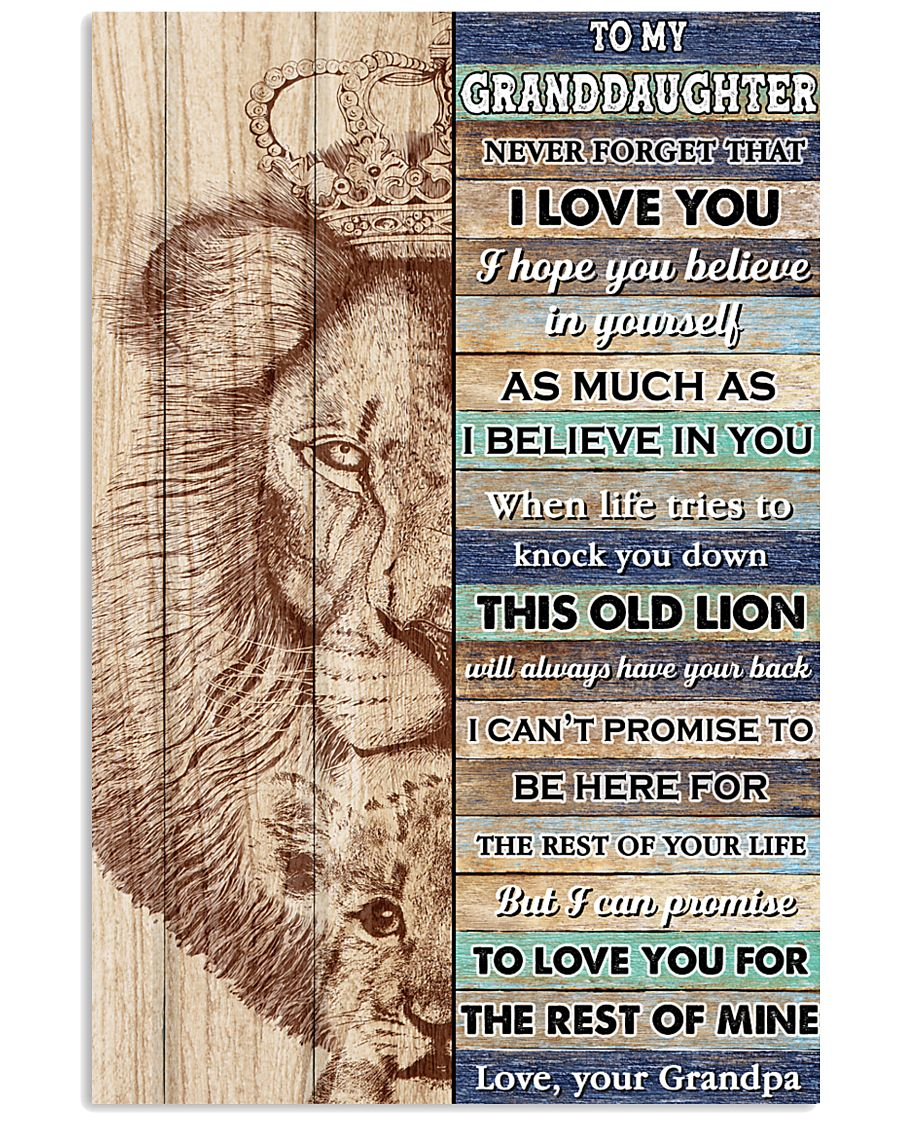 GD This Old Lion Will Always Have Your Back 11x17 Poster