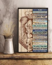 GD This Old Lion Will Always Have Your Back 11x17 Poster lifestyle-poster-3
