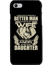 Asked God Make Me Better Man He Sent My Wife Phone Case thumbnail