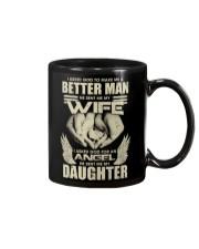 Asked God Make Me Better Man He Sent My Wife Mug thumbnail