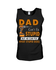 Dad Can Fix What Stupid Does Unisex Tank thumbnail