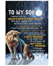 I Want U To Believe Deep In Heart Dad To Son 11x17 Poster thumbnail