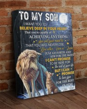 I Want U To Believe Deep In Heart Dad To Son 11x14 Gallery Wrapped Canvas Prints aos-canvas-pgw-11x14-lifestyle-front-09