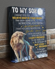 I Want U To Believe Deep In Heart Dad To Son 11x14 Gallery Wrapped Canvas Prints aos-canvas-pgw-11x14-lifestyle-front-10