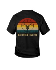 Best Buckin' Dad Ever Youth T-Shirt thumbnail