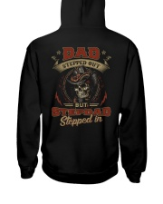 Dad Stepped out but Stepdad stepped in  Hooded Sweatshirt thumbnail