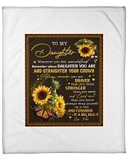"""to my daughter QT2007070 2 Fleece Blanket - 50"""" x 60"""" front"""