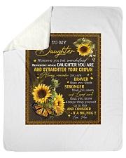 "to my daughter QT2007070 2 Sherpa Fleece Blanket - 50"" x 60"" thumbnail"