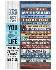 Never Forget That I Love You - Wife To Husband 11x17 Poster thumbnail
